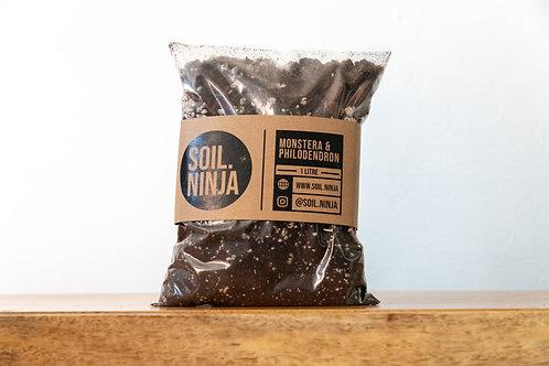 Premium Monstera & Philodendron Soil Mix