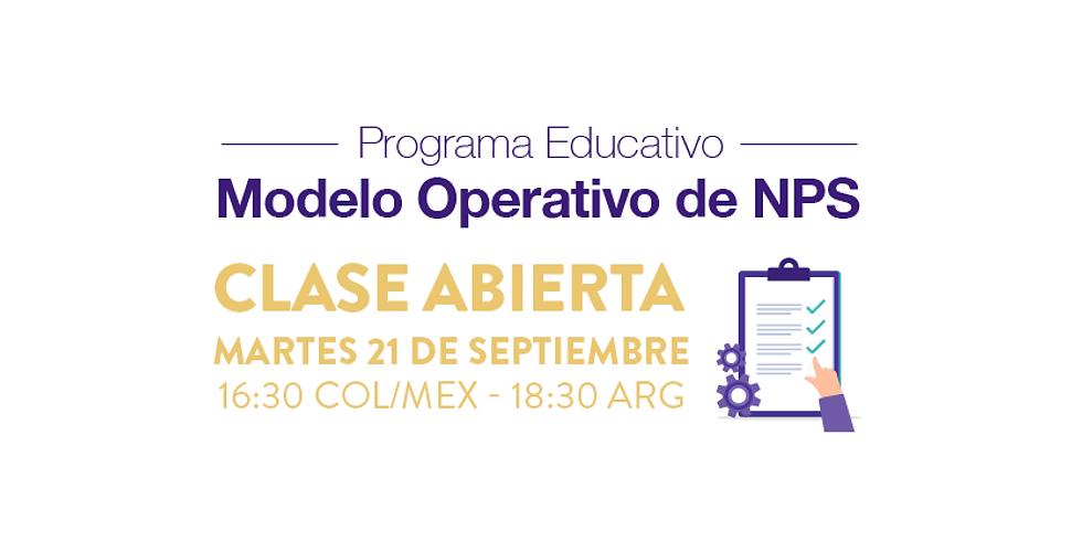 Clase abierta - Modelo Operativo de NPS