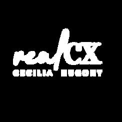 Logo Real CX blanco