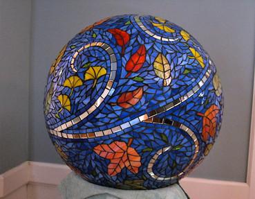 Garden Sphere - Leaves in the Wind