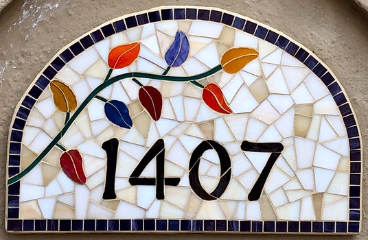 Address Plaque #2