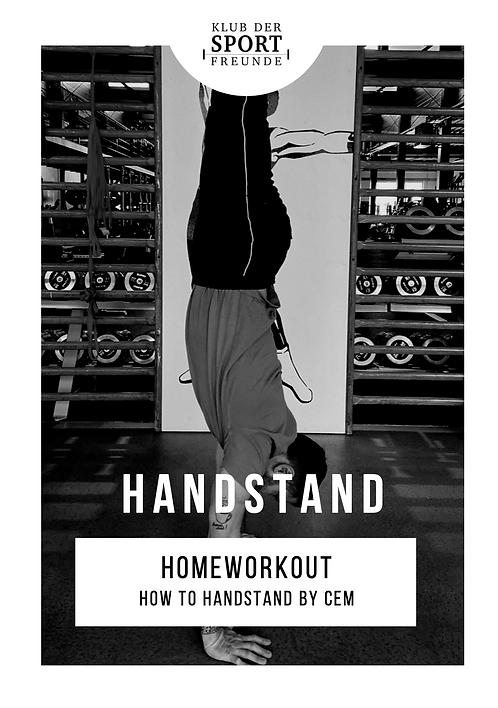 Homeworkout | Handstand Training