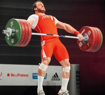 Kreuzheben für das olympische Gewichtheben