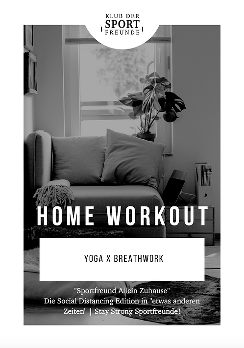 Home Workout | Yoga x Breathwork