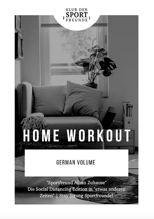 Home Workout | German Volume
