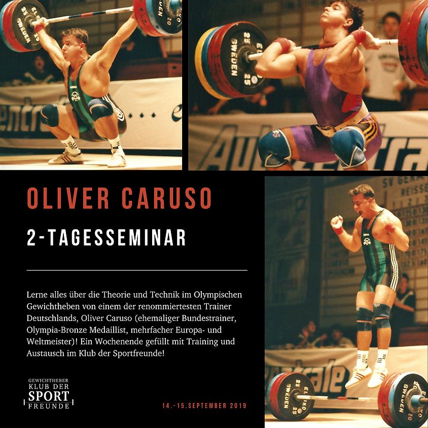Gewichtheber Seminar: Oliver Caruso