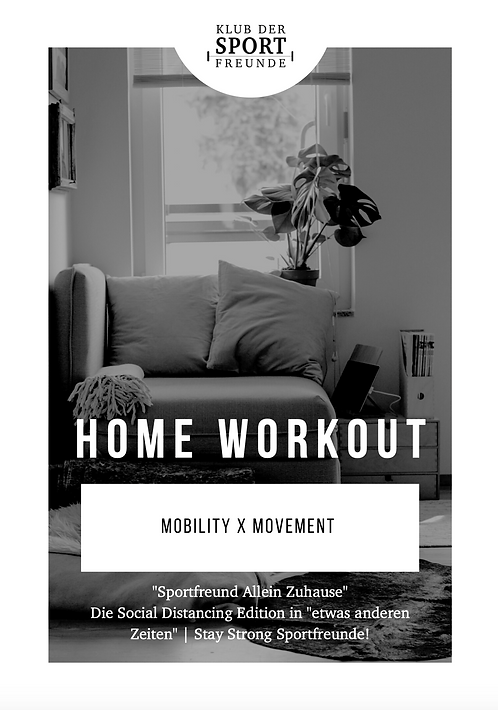 Home Workout | Mobility x Movement