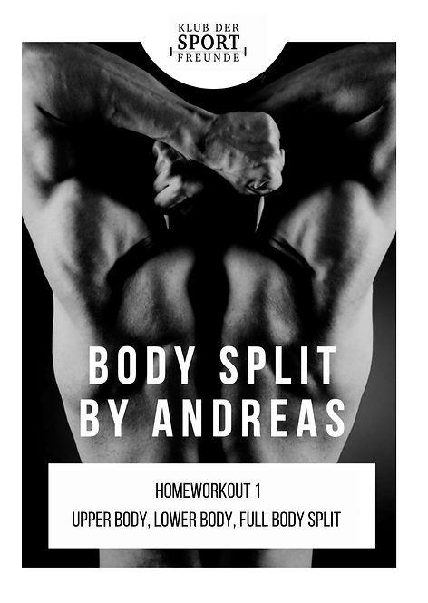 Homeworkout | Body Split by Andy