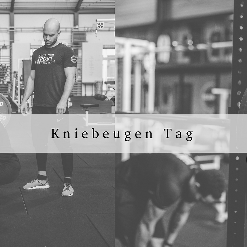 Kniebeugen Tag