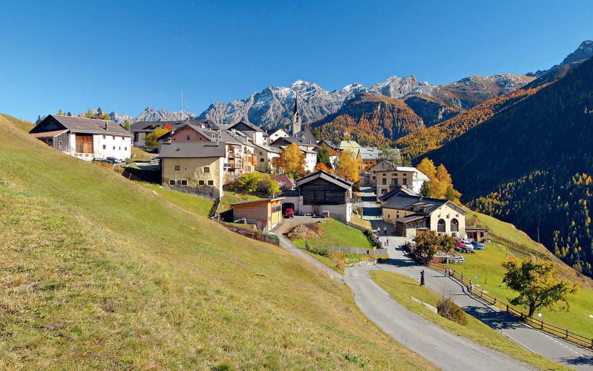 Ortschaft Guarda