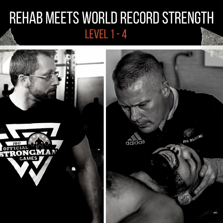 Rehab meets World Record Strength | Level 1