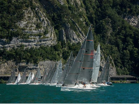 Brunnen, Platu 25 World Championship - Three boats for two places