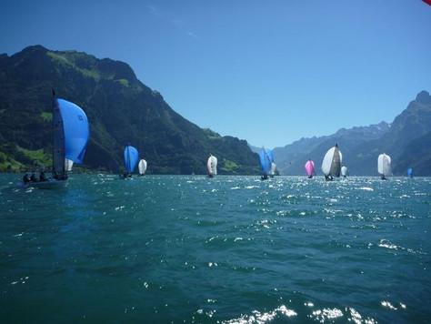 Brunnen - World Championship, Falkone wins the first regattas