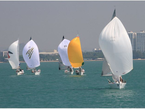 The Transworld Sailing Regatta at Ocean Marina Yacht Club. 9th to 12th February. Once again, the mag