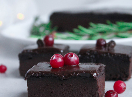 Christmas brownie