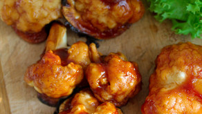 Tempura barbecue cauliflower