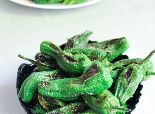 Grilled Padron peppers