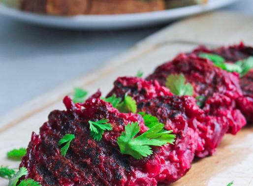 Juicy beet cutlets