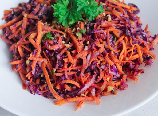 Cabbage-carrot salad