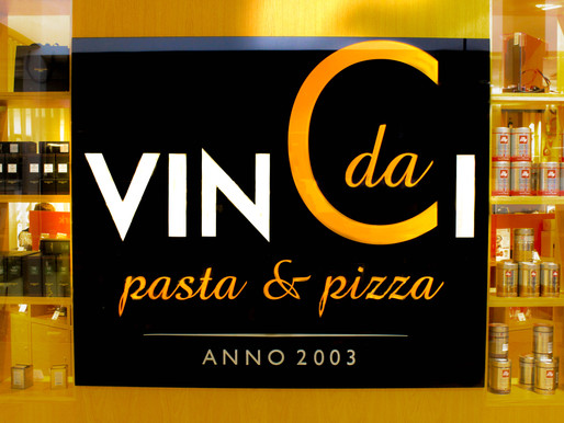 Restaurant Da Vinci new menu