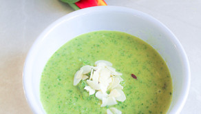 Pureéd Vegetable soup
