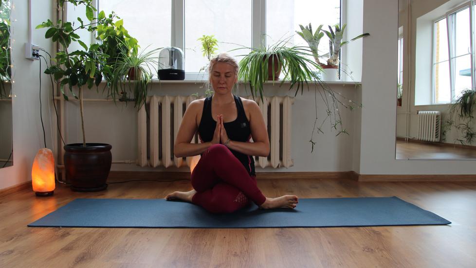 Beginning of my yoga journey