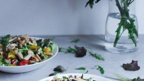Refreshing fillet salad