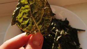 Crispy Kale for a snack