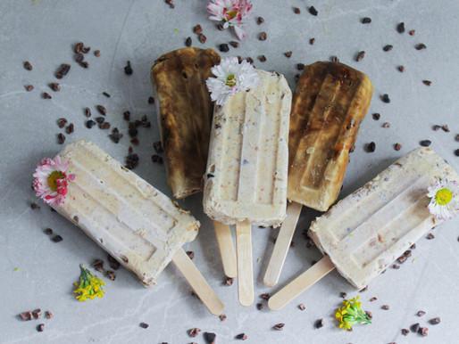 Kodused kookoskoore jäätised