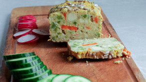 Chickpea-tofu bread