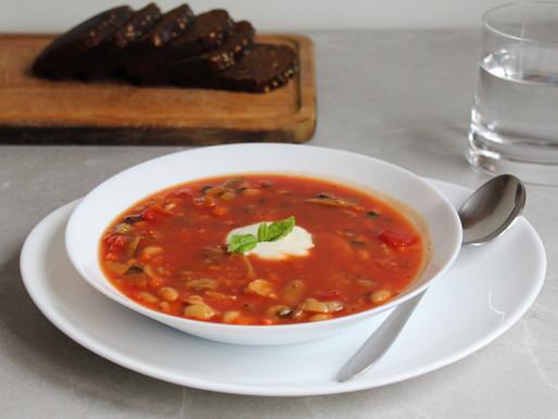 Kiire ja lihtne tomatisupp