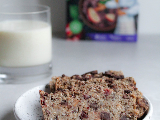 Oatmeal chocolate bread