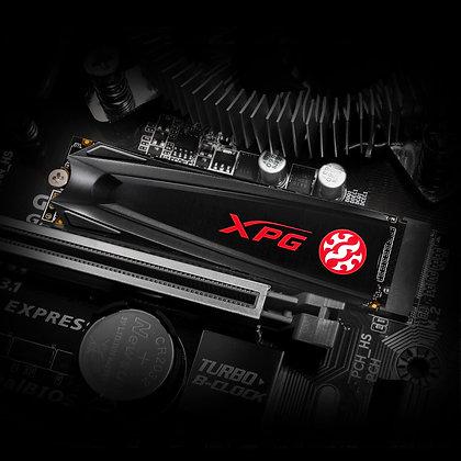 UNIDAD DE ESTADO SOLIDO SSD ADATA XPG GAMMIX S5 NVME M.2280 256GB PCIE GEN 3X4 3