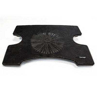 """Base con ventilador para laptop Vorago CP-102 15"""" 2x USB Negro"""