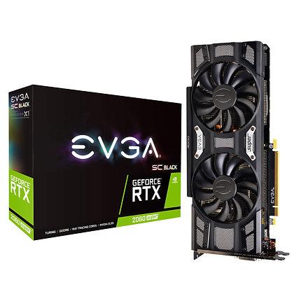 GPU EVGA GEFORCE RTX 2060 SUPER SC BLACK GAMING