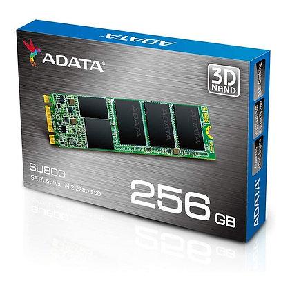 UNIDAD DE ESTADO SOLIDO SSD ADATA SU800NS38 256GB M.2 2280 CONTROLADOR SMI SATA