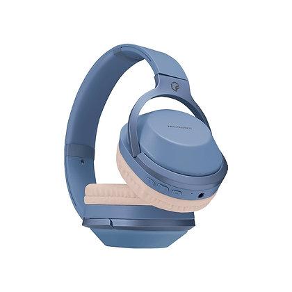 LFAcoustics Audífonos Aura, Bluetooth, Inalámbrico, 3.5mm, Azul/Blanco