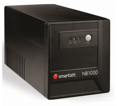 No-break SMARTBITT SBNB1000, 1000 VA, 500 W, Negro, Hogar y Oficina