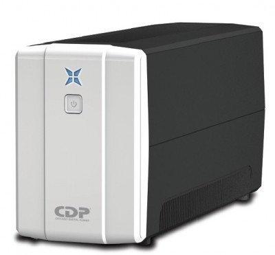 No-Break CDP R-UPR 758, 750 VA, 375 W, Color blanco, Hogar y Oficina