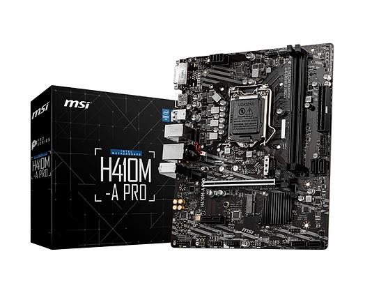 MSI H410M-A PRO 100 10TH, DDR4 MICRO-ATX