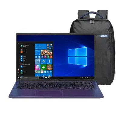 Laptop Asus 15 VivoBook F512DA-BR1186 Ryzen 5 8 GB RAM 512 GB SSD W10 Azul + Moc