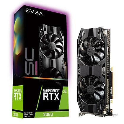 GPU EVGA GEFORCE RTX 2060 SC ULTRA GAMING 6GB DDR6