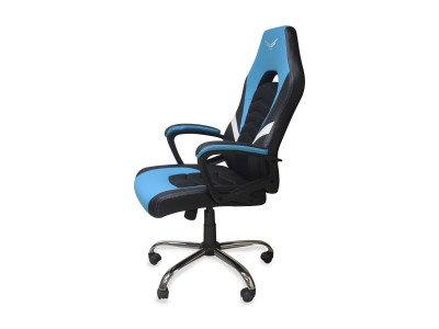 Silla Gamer Naceb Naceb Technology NA-0935A, Gamer, Azul, Poliuretano + Nylon