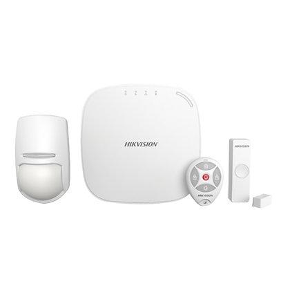 Hikvision Digital Kit Sistema de Alarma DS-PWA32-K, Inalámbrico, Incluye Panel/