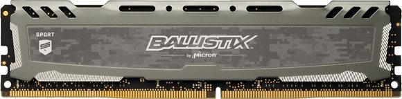 MEM DDR4  BALLISTIX SPORT LT 8GB DDR4 3000MHZ GRAY