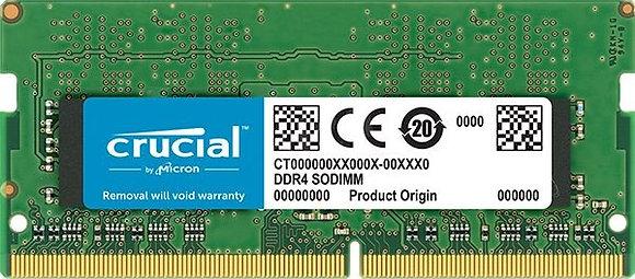 MEM DDR4 CRUCIAL 4GB SODIMM 2666MHZ CL19