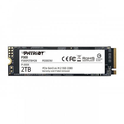 SSD Patriot P300, 2TB, PCI Express 3.0, M.2