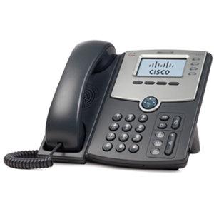 Teléfono IP de 1 línea con pantalla, PoE y puerto para conexión a PC
