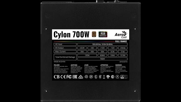 PSU AEROCOOL CYLON 700W+80 PLUS BRONZE,RG