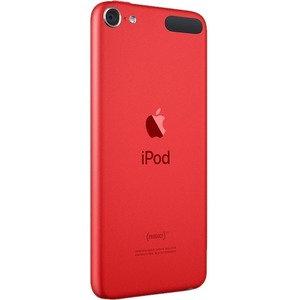 Reproductor de medios flash portable Apple iPod touch 7G - 32GB - Rojo - Reprodu